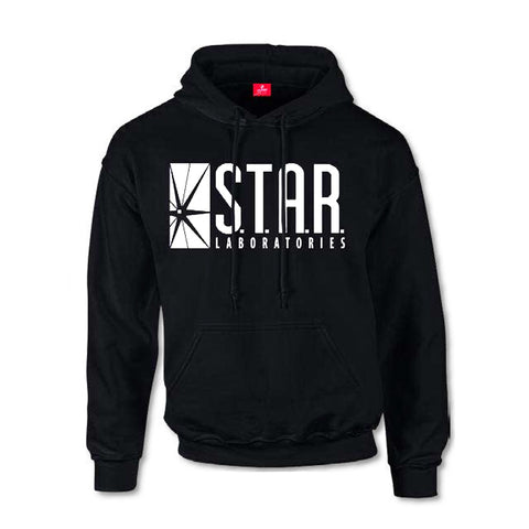 The Flash - Star Labs Logo - Hooded Sweatshirt