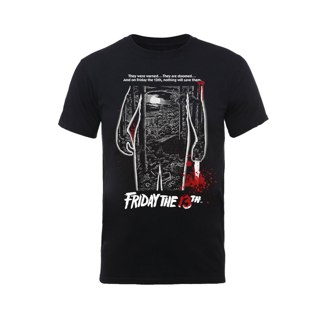 Friday The 13th - Bloody Poster - T-Shirt