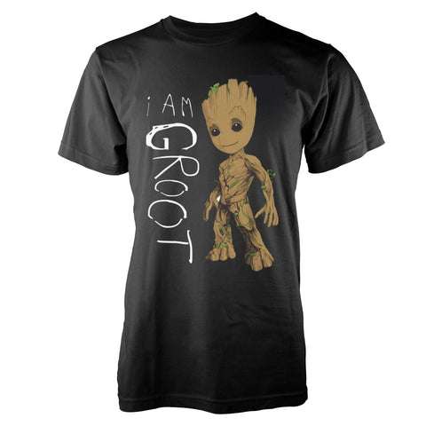 Guardians of the Galaxy - I Am Groot Scribbles - T-Shirt