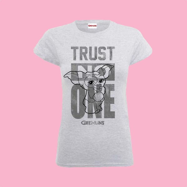 [W] Gremlins - Trust No One - Ladies Fitted T-Shirt