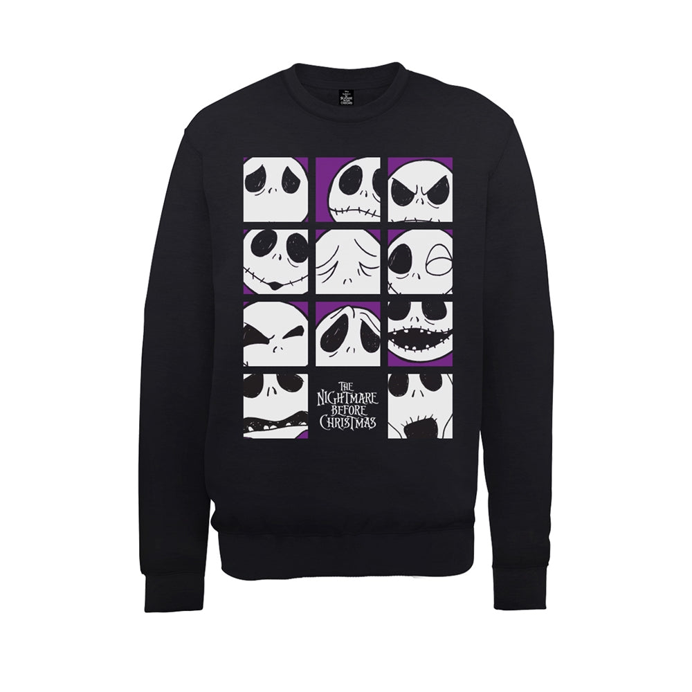 The Nightmare Before Christmas - Many Faces Of Jack - Sweatshirt