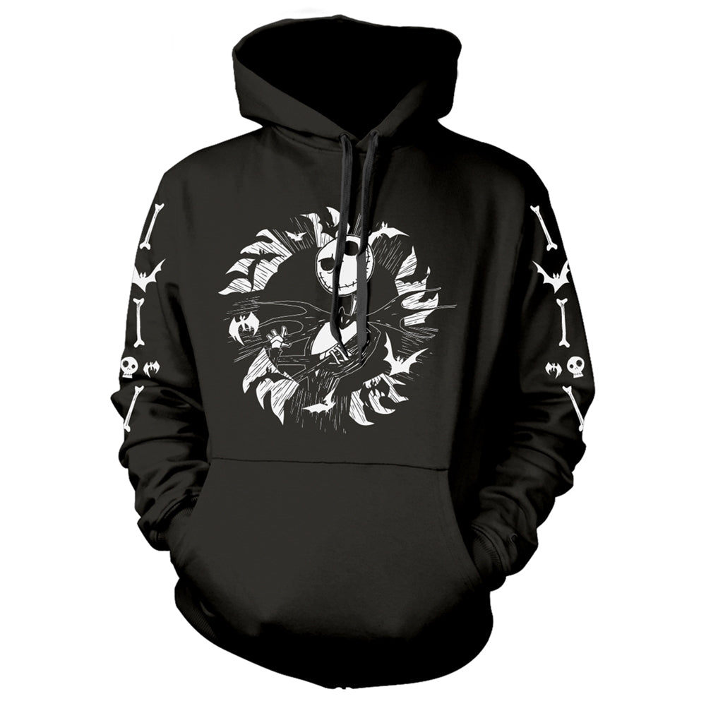 The Nightmare Before Christmas - Jack Bat - Hooded Sweatshirt