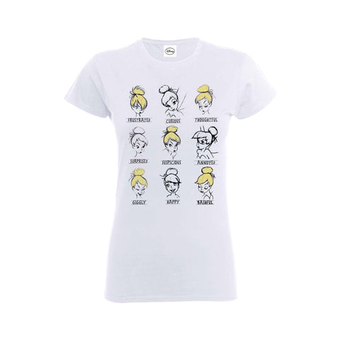 [W] Disney - Tinker Bell Moods - Ladies Fitted T-Shirt