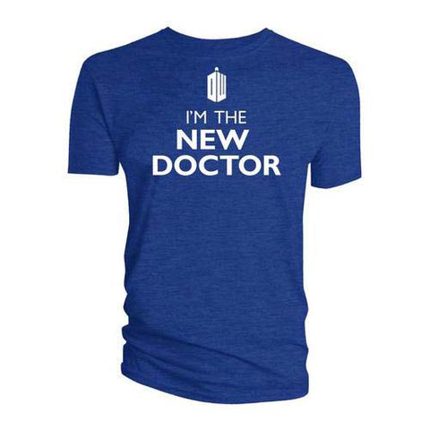 Doctor Who - I'm The New Doctor - T-Shirt