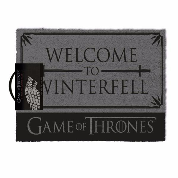 Game of Thrones - Welcome To Winterfell  - Doormat