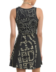 Harry Potter - Marauder's Map Stretch - Dress