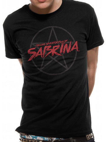 The Chilling Adventures of Sabrina - Pentagram Logo - T-Shirt