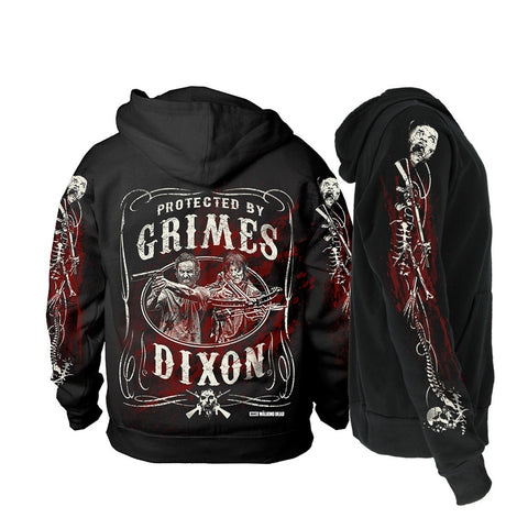 The Walking Dead - Grimes & Dixon - Hooded Sweatshirt (Zipped)