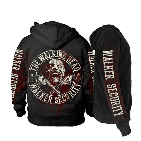 The Walking Dead - Walker Security - Hooded Sweatshirt (Zipped)