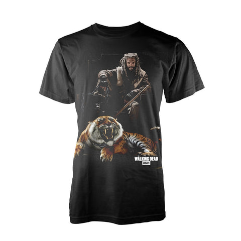 The Walking Dead - Ezekiel with Shiva - T-Shirt