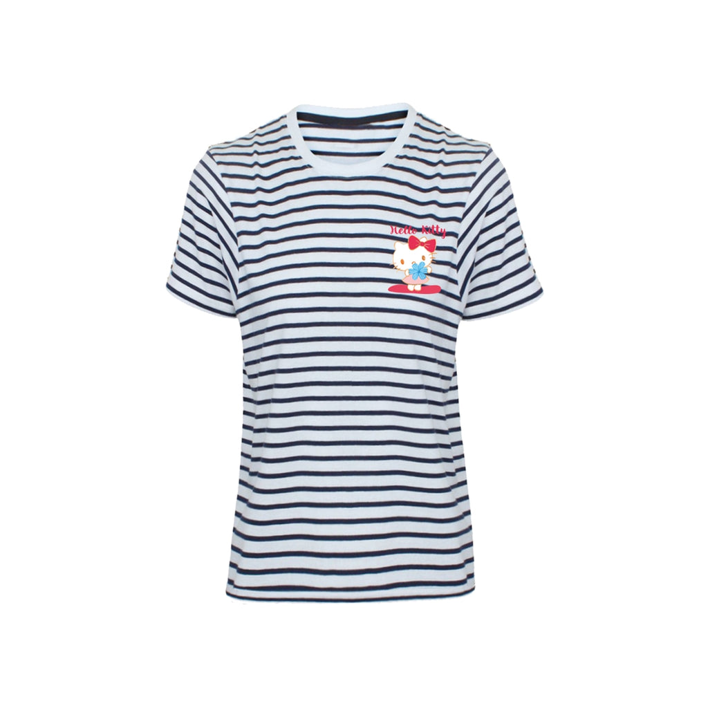 Hello Kitty - Striped - T-Shirt