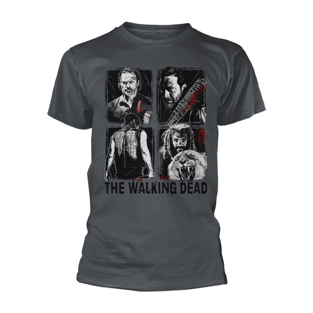 The Walking Dead - 4 Characters - T-Shirt