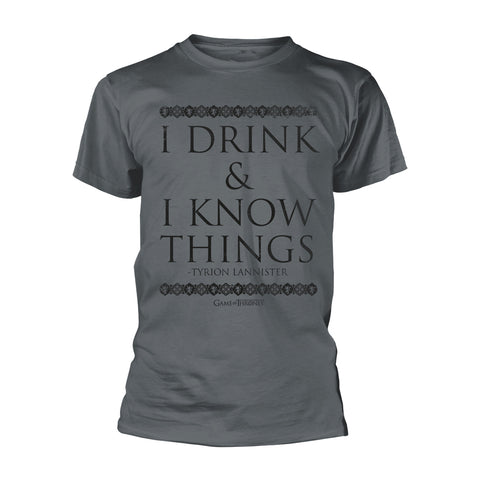 Game of Thrones - I Drink & I Know Things - T-Shirt