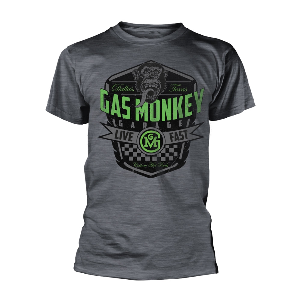 Gas Monkey Garage - Live Fast - T-Shirt