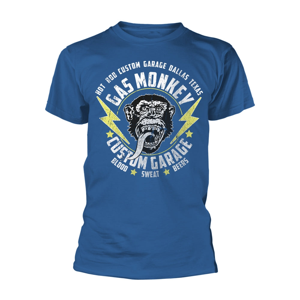 Gas Monkey Garage - Lightning Bolts - T-Shirt