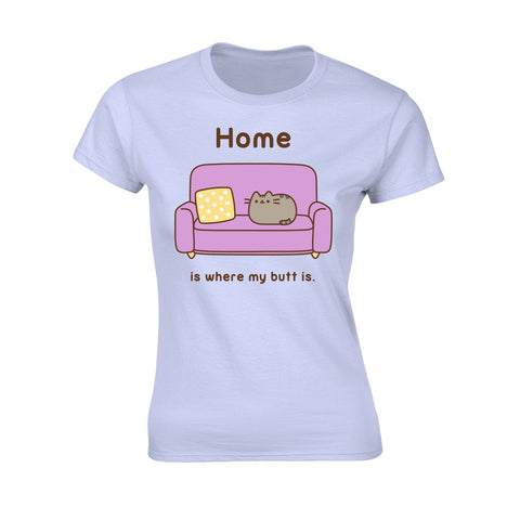 Pusheen - Home - Ladies Fitted T-Shirt