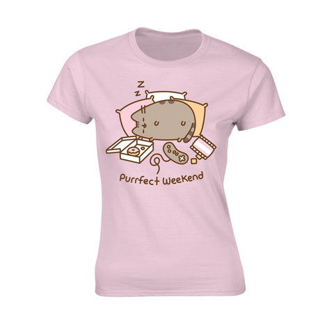 Pusheen - Purrfect Weekend - Ladies Fitted T-Shirt
