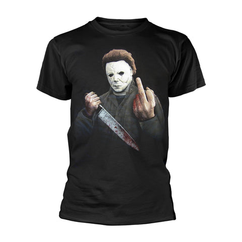 Halloween - Middle Finger - T-Shirt