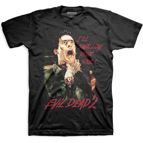 Evil Dead 2 - Swallow Your Soul - T-Shirt