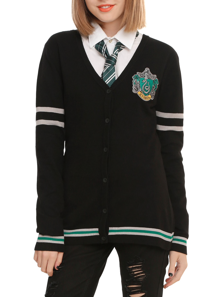 Harry Potter - Slytherin - Cardigan