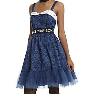 Doctor Who - Tardis Patterned - Dress