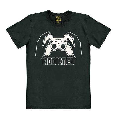 Addicted - Game Controller - T-Shirt