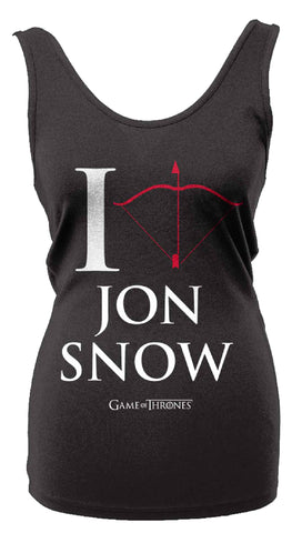 [W] Game of Thrones - I Love Jon Snow - Ladies Vest