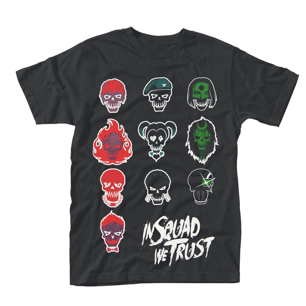 Suicide Squad - In Squad Faces - T-Shirt