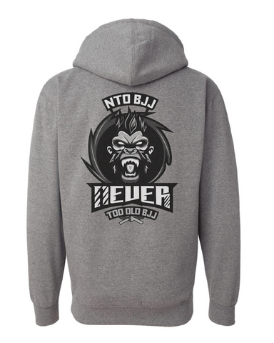 Never Too Old BJJ Hoodie