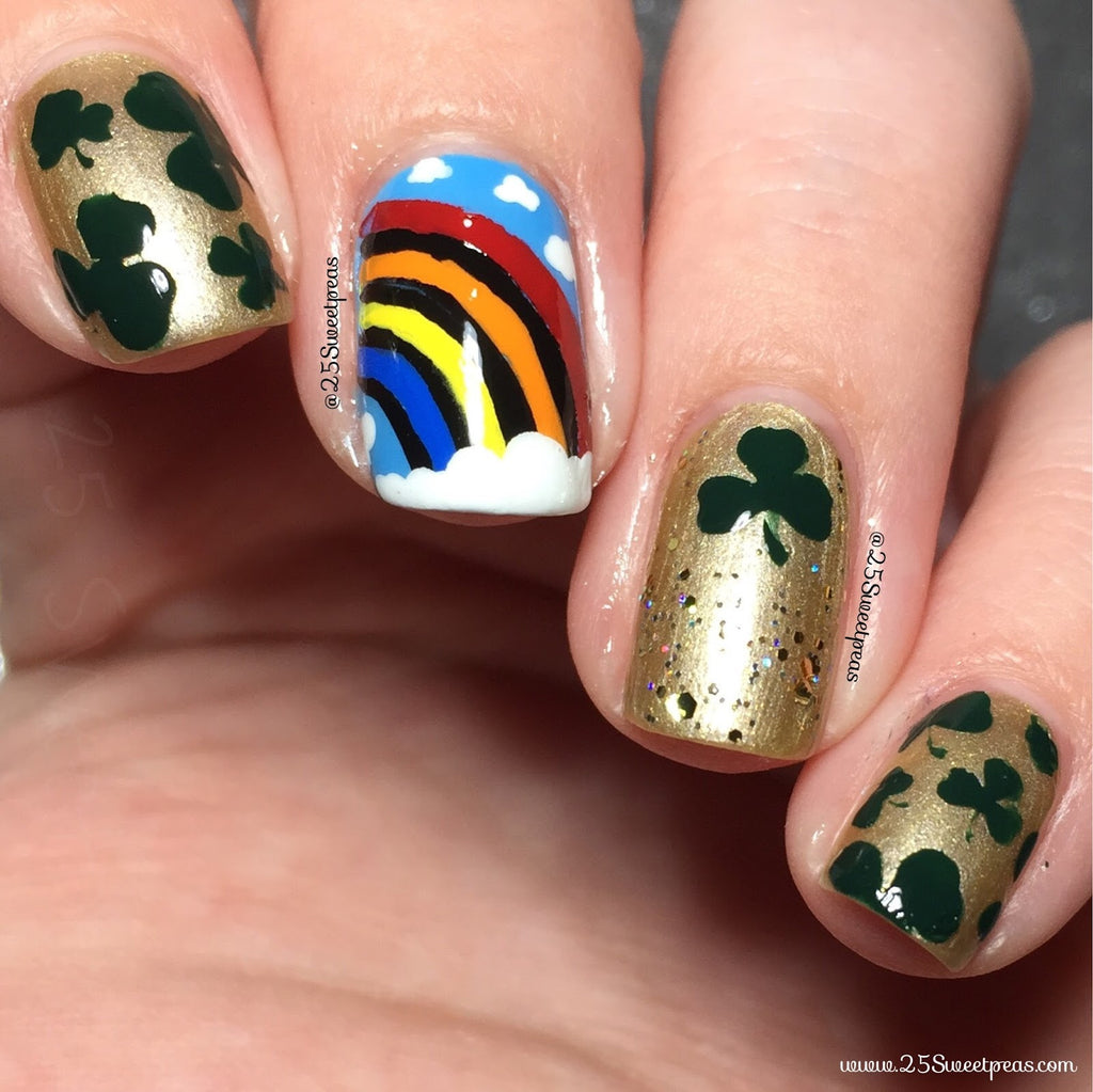 Guest Post by 25 Sweetpeas: St. Patrick's Day Manicure Tutorial