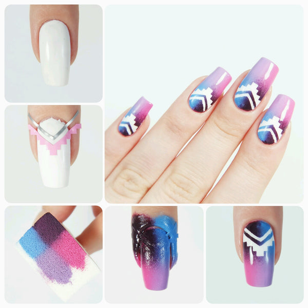 Small Single Chevron Nail Vinyls - Snail Vinyls  - 7