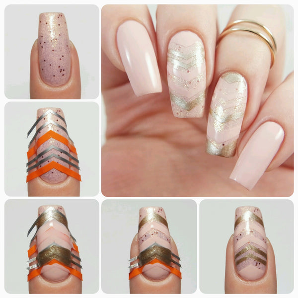 Single Chevron Nail Vinyls - Snail Vinyls  - 9