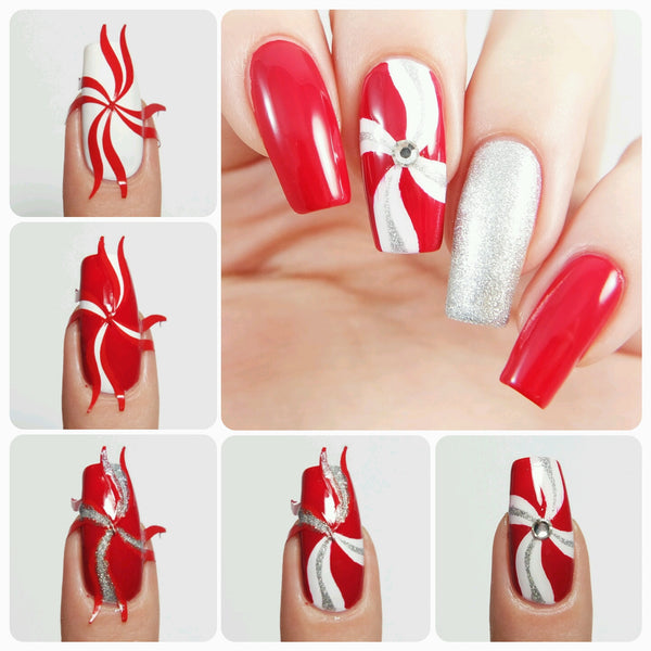 Simple Wave Nail Vinyls - Snail Vinyls  - 6