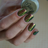 Mitty SUPER Chrome Nail Art Powder- Amber