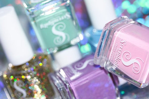 Complete Beach, Please! Serendipity Nail Polish Collection