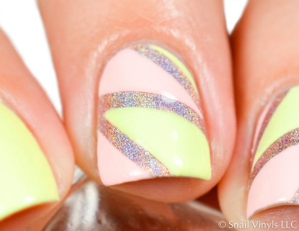 Deep Single Chevron Nail Vinyls - Snail Vinyls  - 8