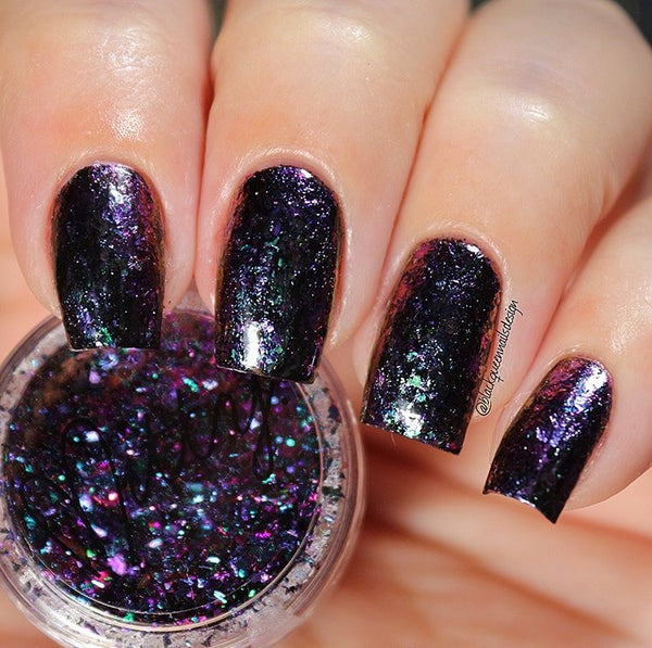 Mitty Shattered Galaxy Nail Art Powder