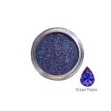 Mitty SUPER Chrome Nail Art Powder- Grape Topaz