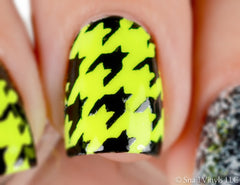 Houndstooth Nail Stencils - Snail Vinyls  - 6