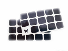 Butterfly Nail Decals/ Nail Stencils (30) - Snail Vinyls  - 5