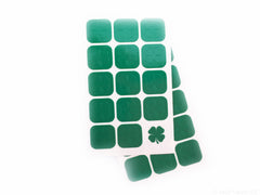 Four Leaf Clover Nail Decals - Snail Vinyls  - 2