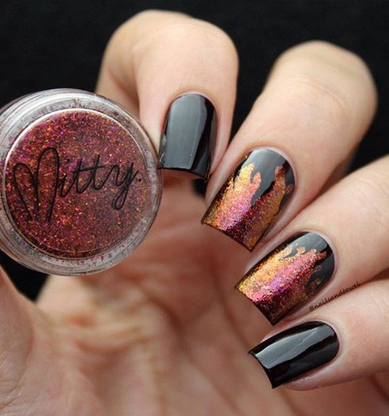 Mitty Shattered Dreams Nail Art Powder
