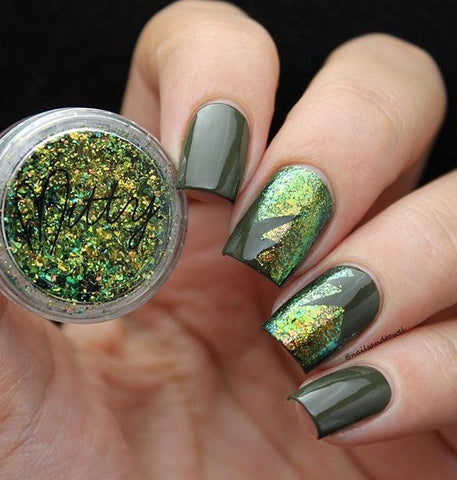DETAILS   Use on normal or gel nail polish! The choice is yours Bling, ...