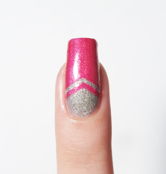 Small Single Chevron Nail Vinyls - Snail Vinyls  - 6