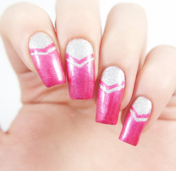 Small Single Chevron Nail Vinyls - Snail Vinyls  - 5