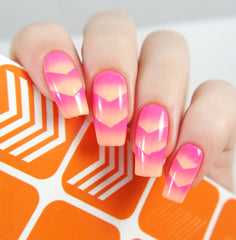 Single Chevron Nail Vinyls - Snail Vinyls  - 4