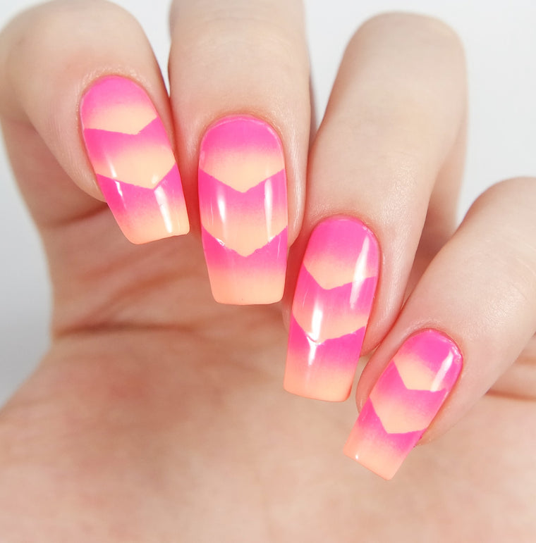 Single Chevron Nail Vinyls