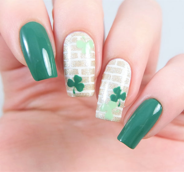 Clover Nail Decals
