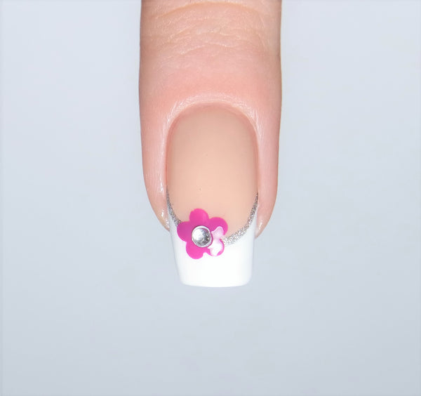 Daisy Flower Nail Decals
