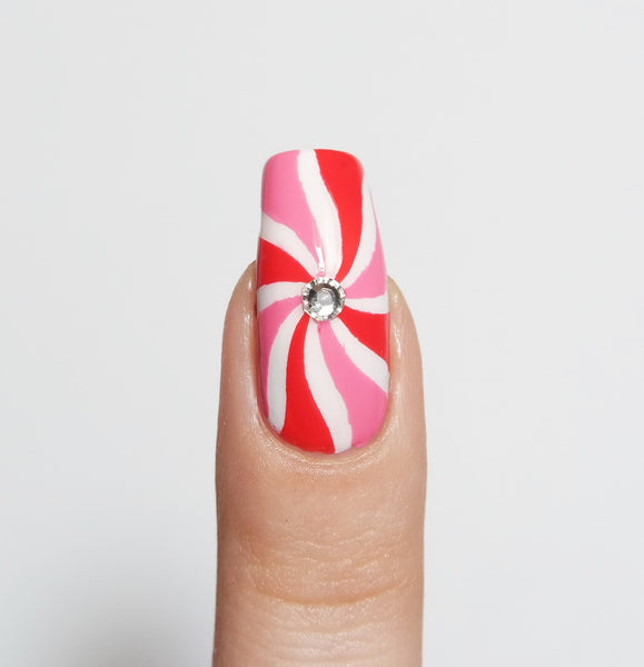 Simple Wave Nail Vinyls - Snail Vinyls  - 4